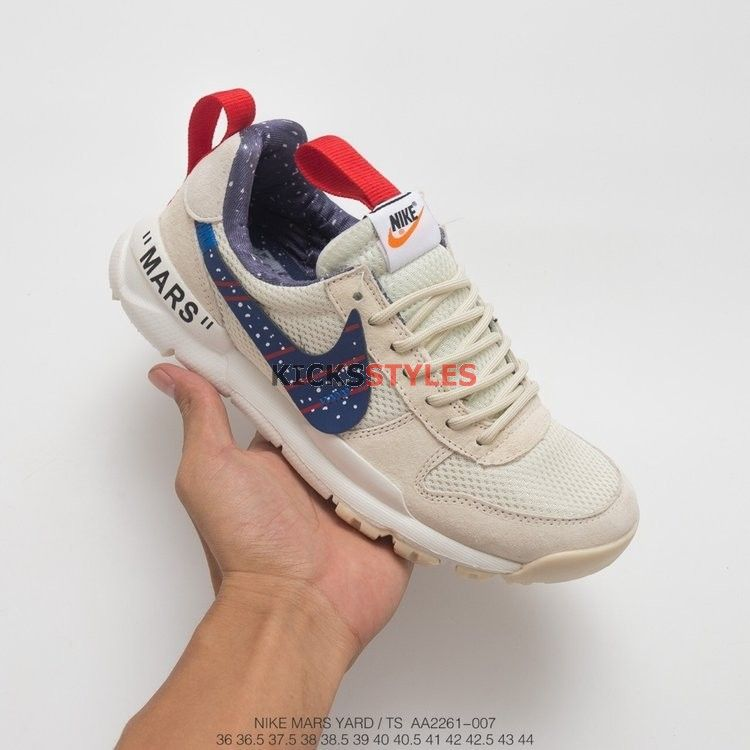 official photos 4509a 505ff Custom Off-White x Tom Sachs x NikeCraft Mars Yard 2.0 Moon Particle