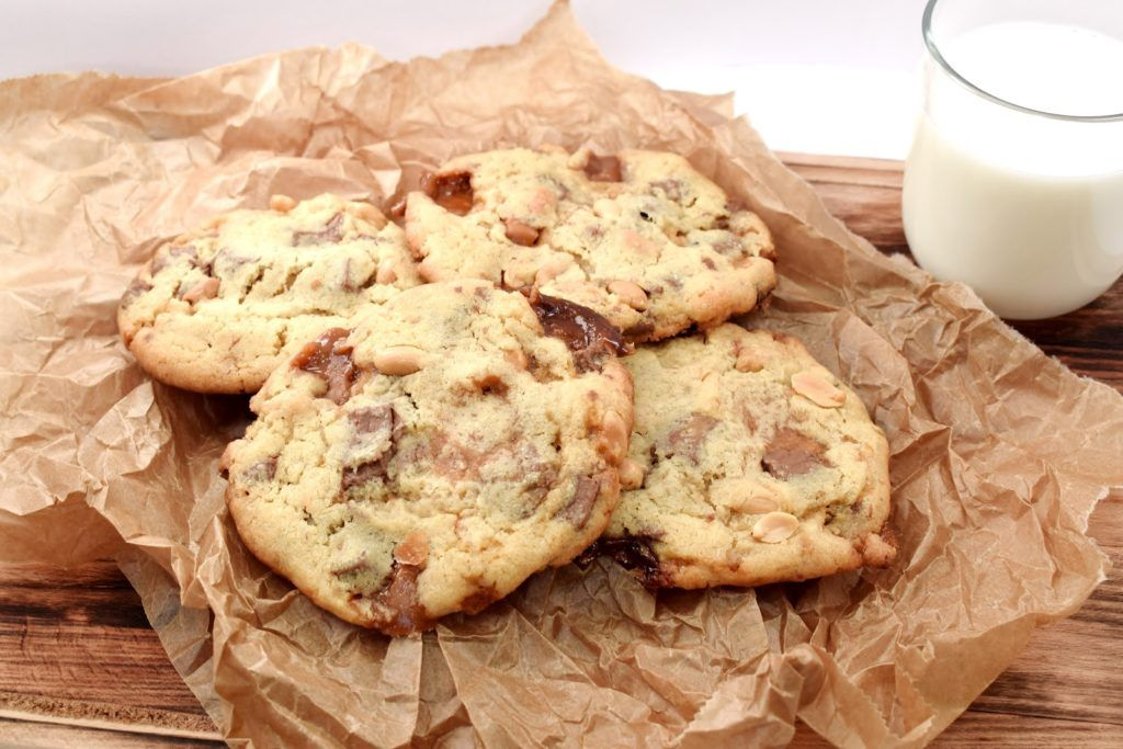 Photo of Cookies with salted peanuts and caramel
