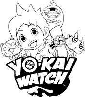 Coloriage de Yo Kai  Malvorlagen YoKai Watch Bilder zum ausmalen