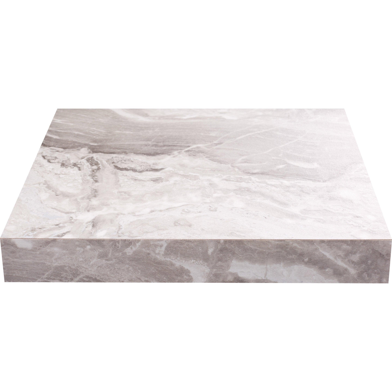Plan Snack Stratifie Effet Marbre Blanc Venato Mat L 200 X P 40 Cm Ep 38 Mm Marbre Blanc Marbre Plan De Travail Stratifie