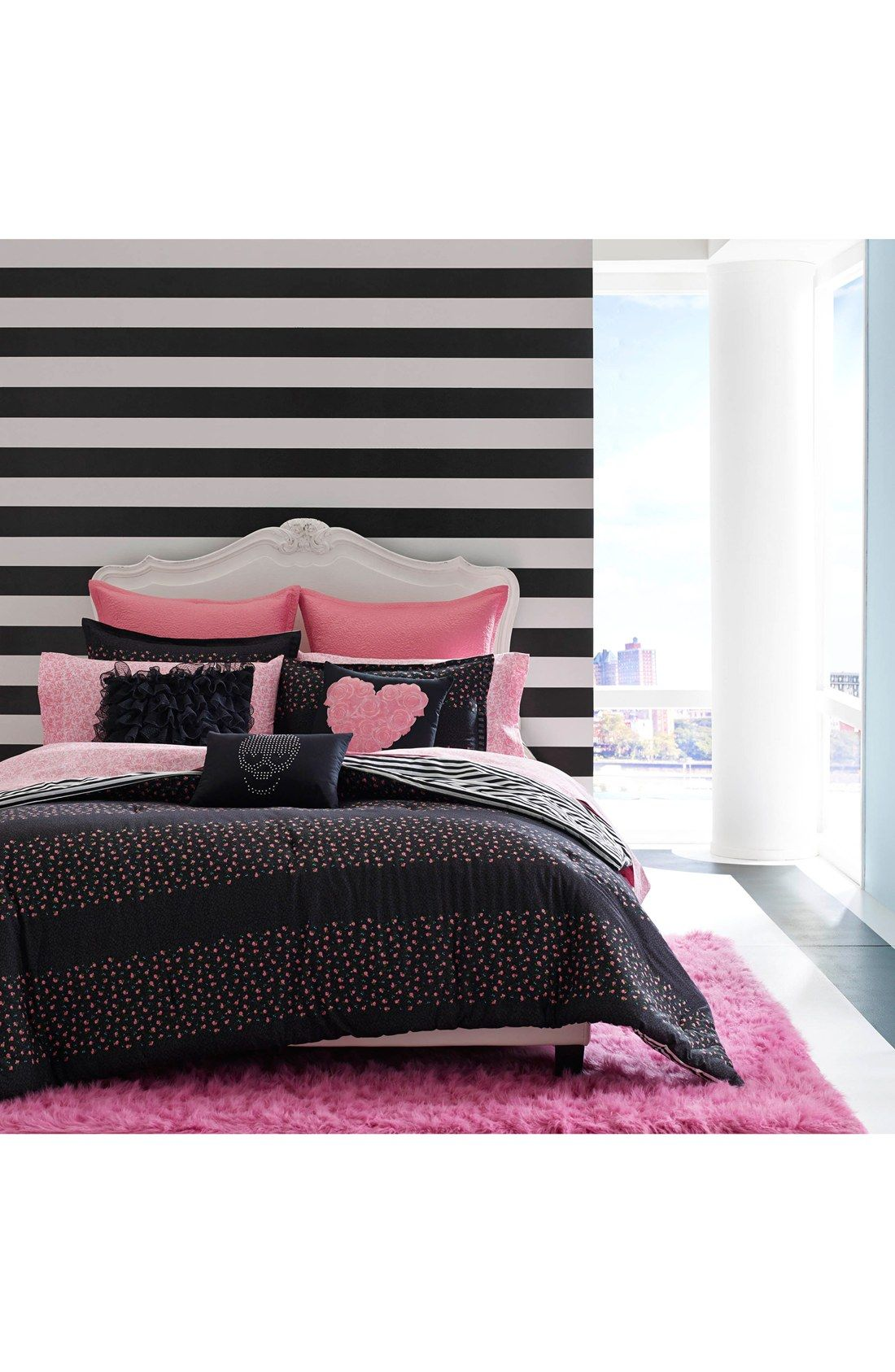 Betsey Johnson Bedding Punk Princess Comforter Set Betsey Johnson Bedding Princess Comforter Wall Decor Bedroom