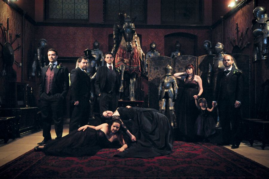 The Dark Side of the Moon | Castle wedding venue, Gothic ...