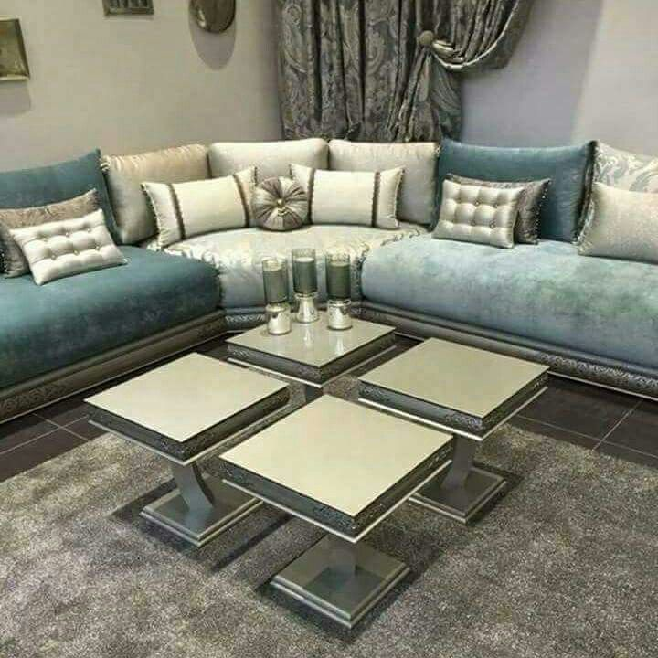 Pin By فاطمة On Living Rooms Corner Sofa Design Luxury Living Room Moroccan Living Room