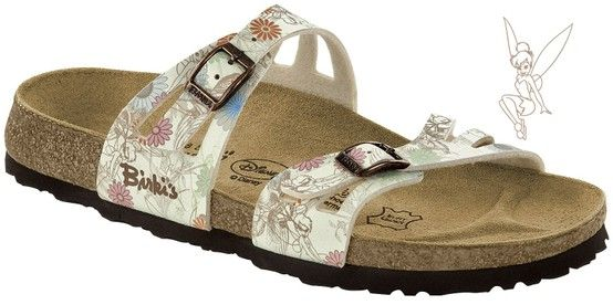9edfa41c5f9 Zdravotní obuv Birki Disney - Moorea Tinker Bell beige   Birko-flor. více  obuvi