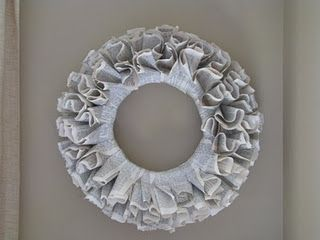 repurpose into a cool wreath    source:  Just Drink a Coke blog