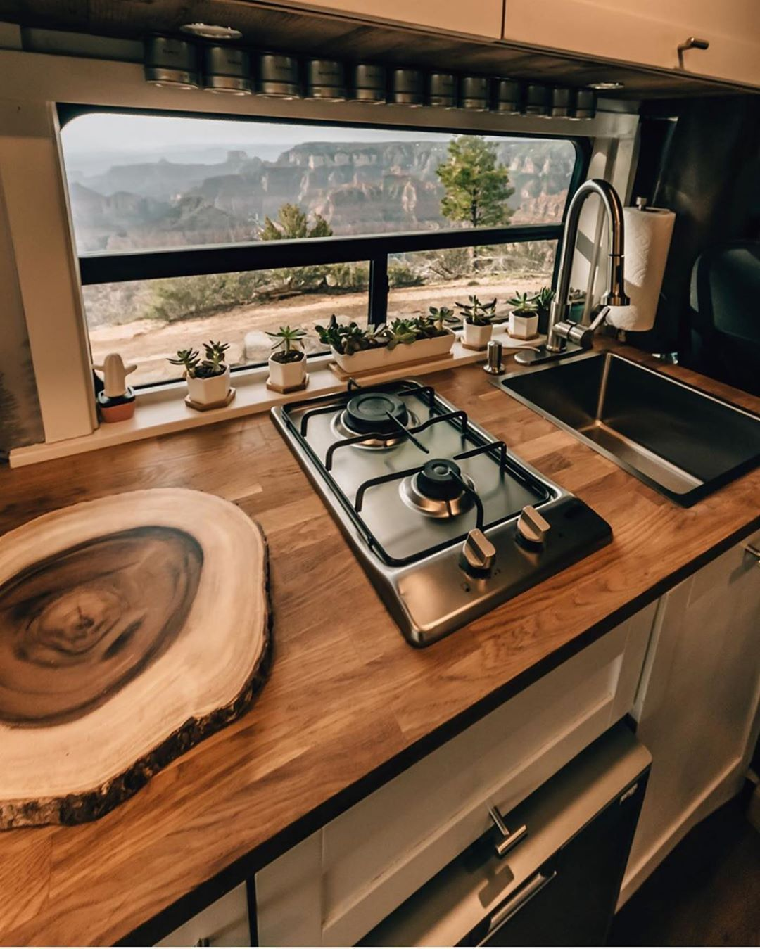 "Photo of Van Conversion Company on Instagram: """"Everything + the kitchen sink?"" And…"