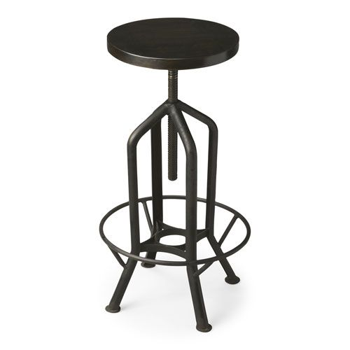 Cool Butler Specialty Company 2883025 Metalworks Revolving Bar Machost Co Dining Chair Design Ideas Machostcouk