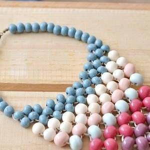 Beaded Trellis Necklace