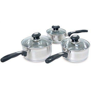 Zip Elegance 3 Piece Cookware Set Cookware Set Cookware 3 Piece