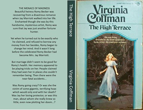 Virginia Coffman Most popular authors from the 1960's and 1970's Gothic Romance era