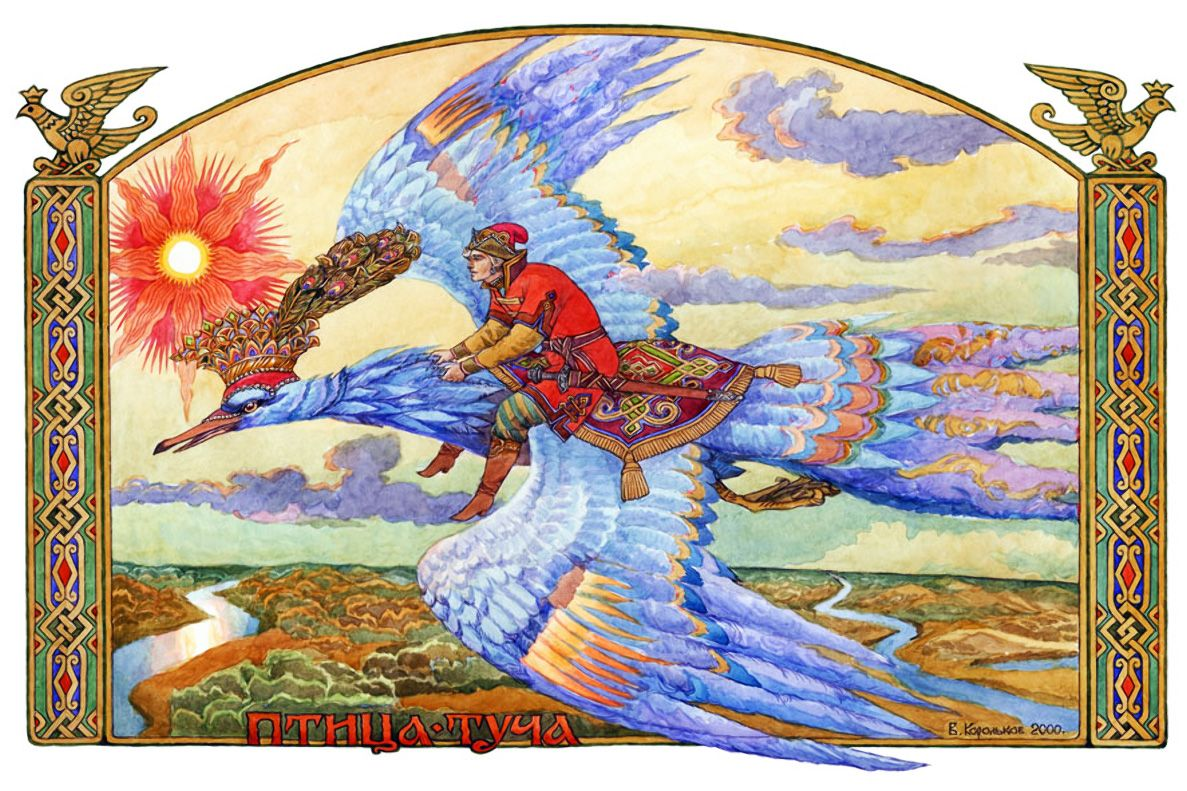 мифические птицы древних славян изображения