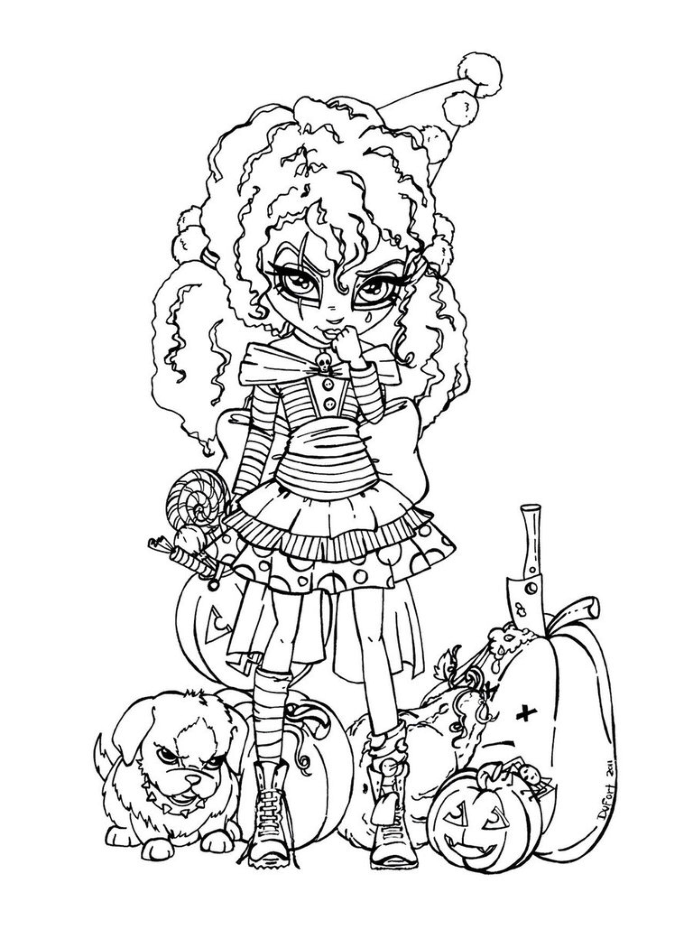 Trick or Treat by JadeDragonne on @DeviantArt | Wicked Cool Holiday ...