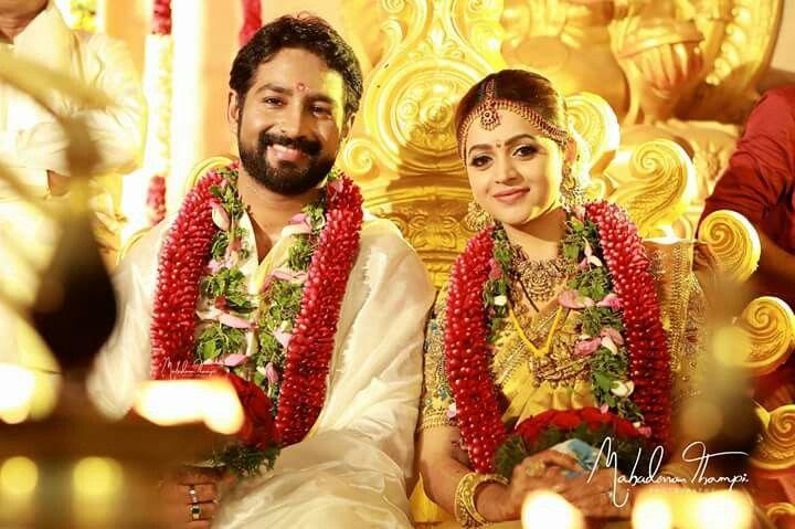 Pin By Sabin Pk On Bhavana Wedding South Indian Weddings Bhavana