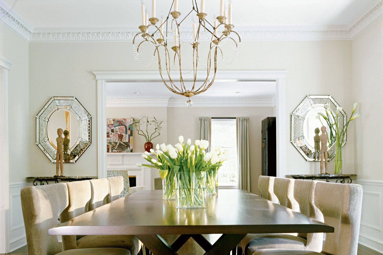 Niermann Weeks Italian Chandelier in a dining room ...
