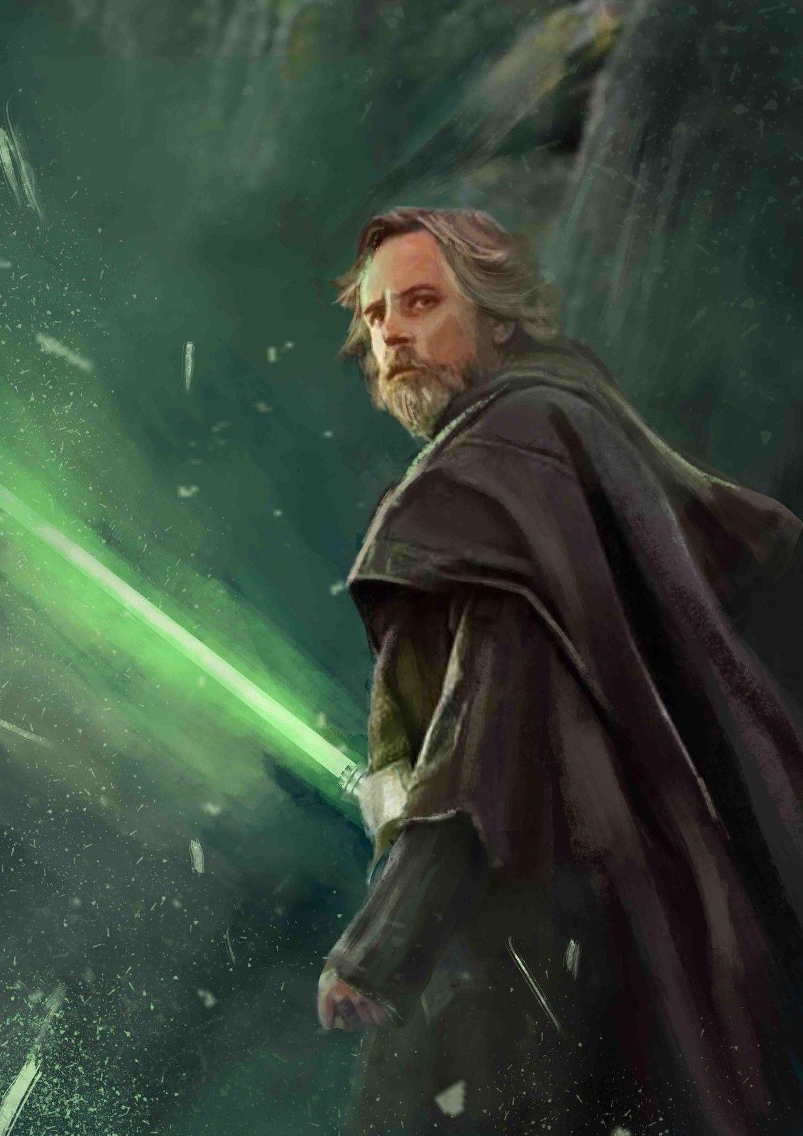 Luke Skywalker The Last Jedi Alifka Hammam Nugroho On ArtStation At Artstation Artwork YlvqP