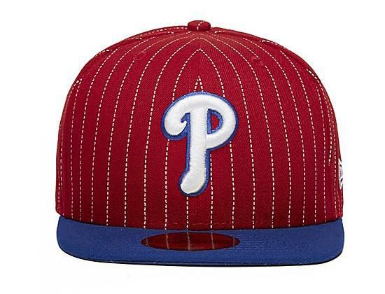 96a8d9a4a0d Philadelphia Phillies Pin Crown 59Fifty Fitted Baseball Cap by NEW ERA x MLB