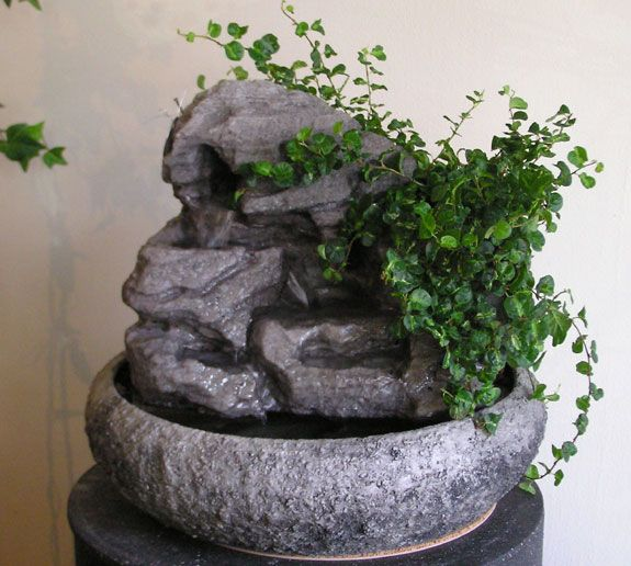 Indoor Fountains W Live Plants Small Fountains Indoor Tabletop