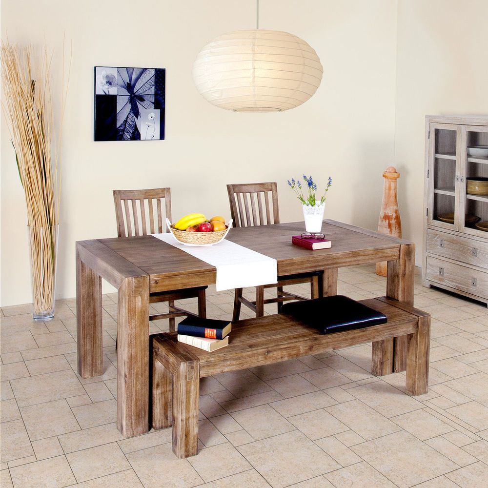 Größen Tisch Holz Holztisch Massivholz Esstisch Esszimmer