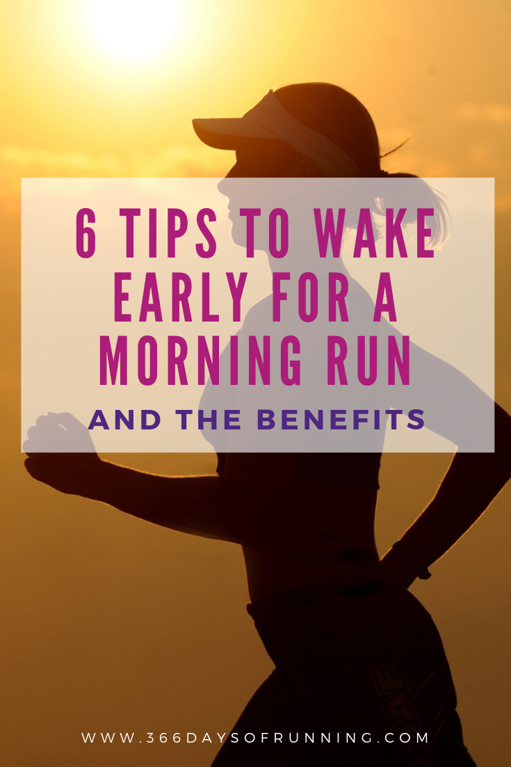 6 tips to wake early for a morning run (and the benefits) | Today, I'm exploring the reasons I recom...