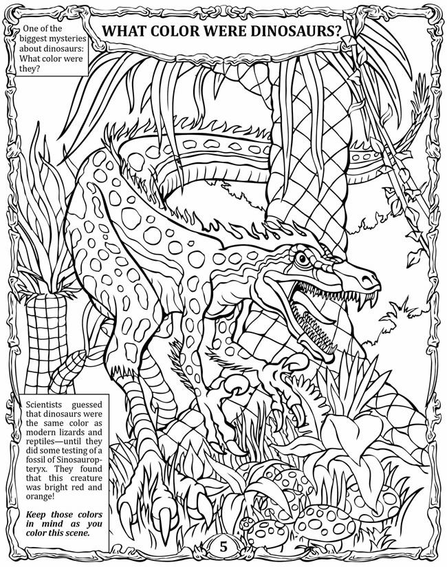 History's Mysteries! Dinosaurs Activity Book Dover