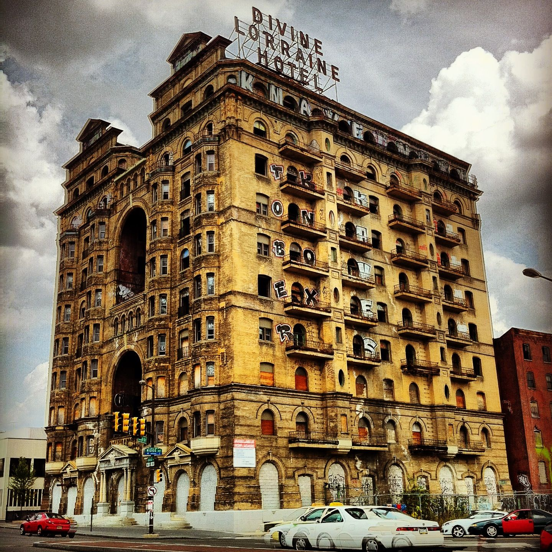 Divine Lorraine Hotel Broad St. Philadelphia