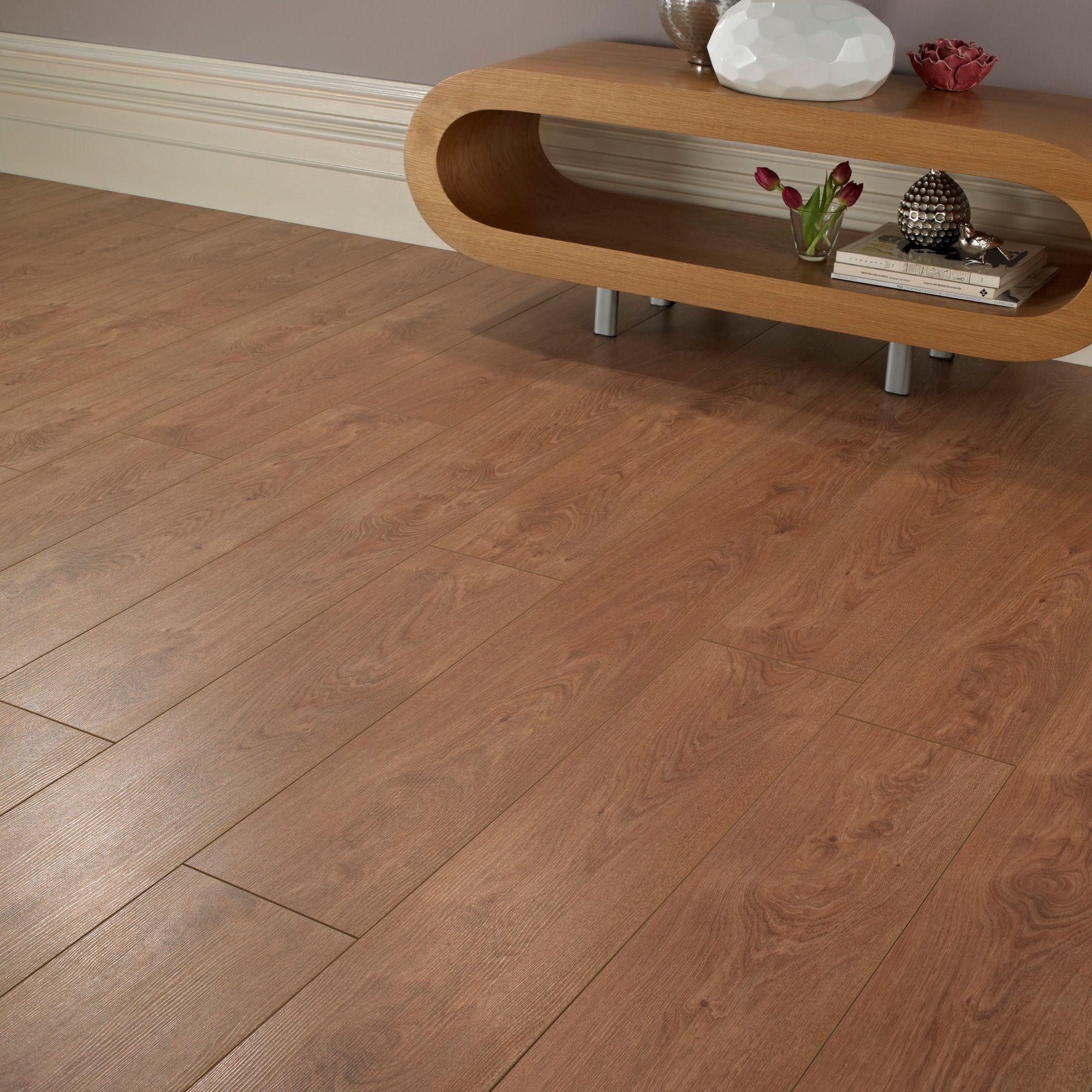 Colours Bandura Bologna Oak Effect Laminate Flooring 2 25 M² Departments Diy At B Q