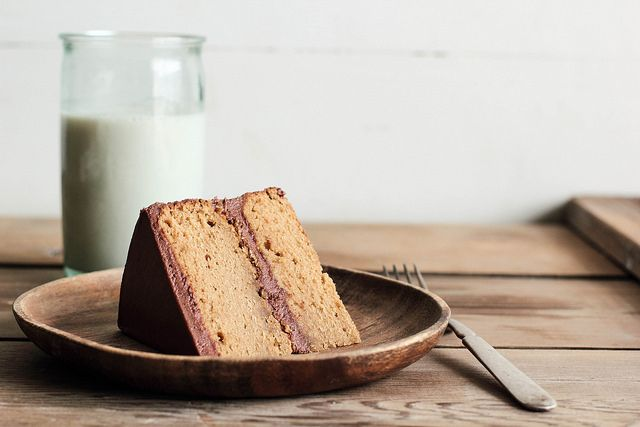 Peanut Butter Chocolate FrostedCake | Pastry Affair