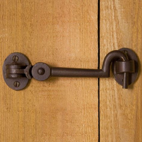 Solid Bronze Cabin Door Hook Latch | Signature Hardware title=