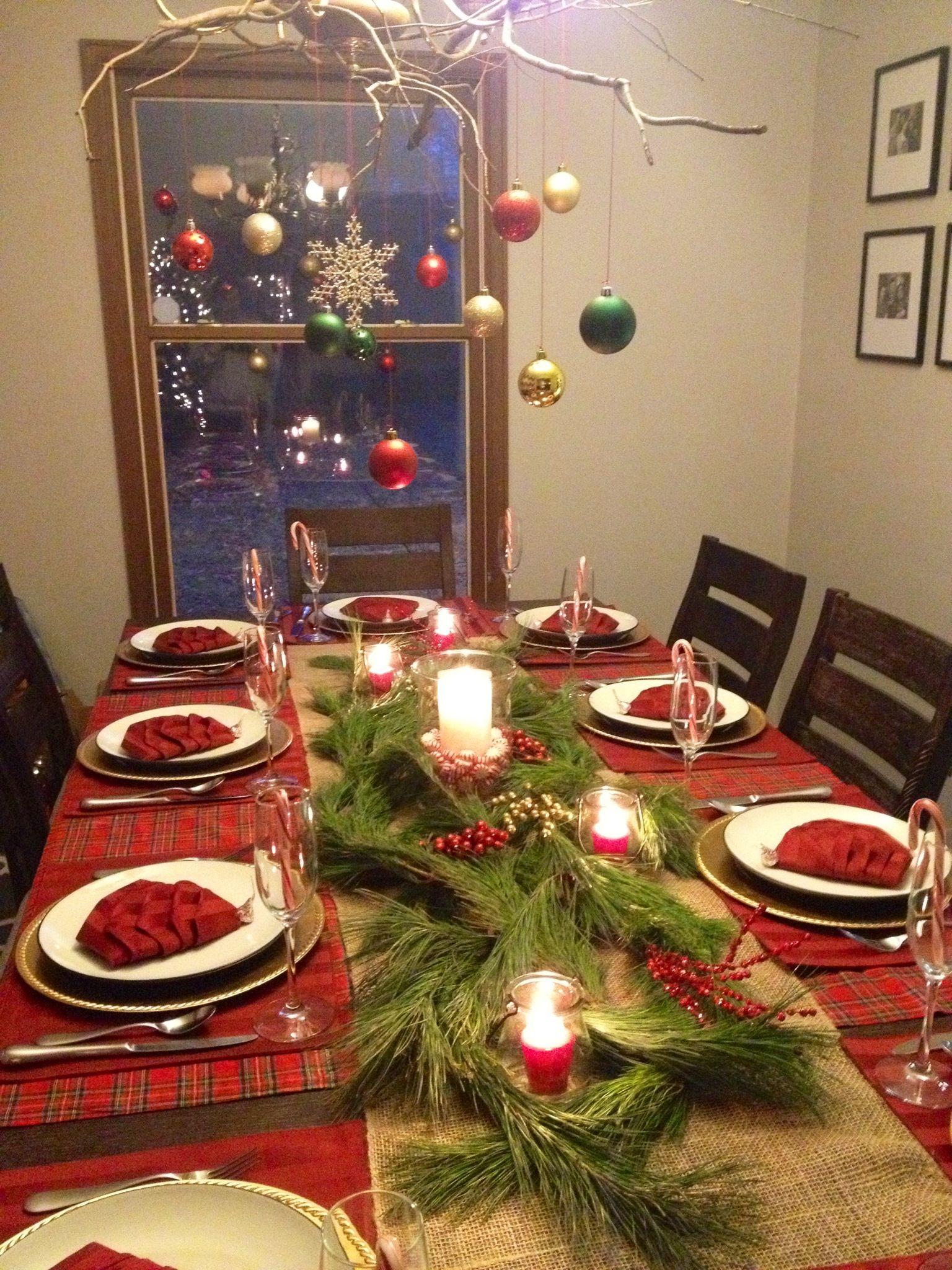 Christmas Dinner Table Decorations Christmas Decorations Dinner Table Christmas Dinner Table Settings Christmas Dinner Table