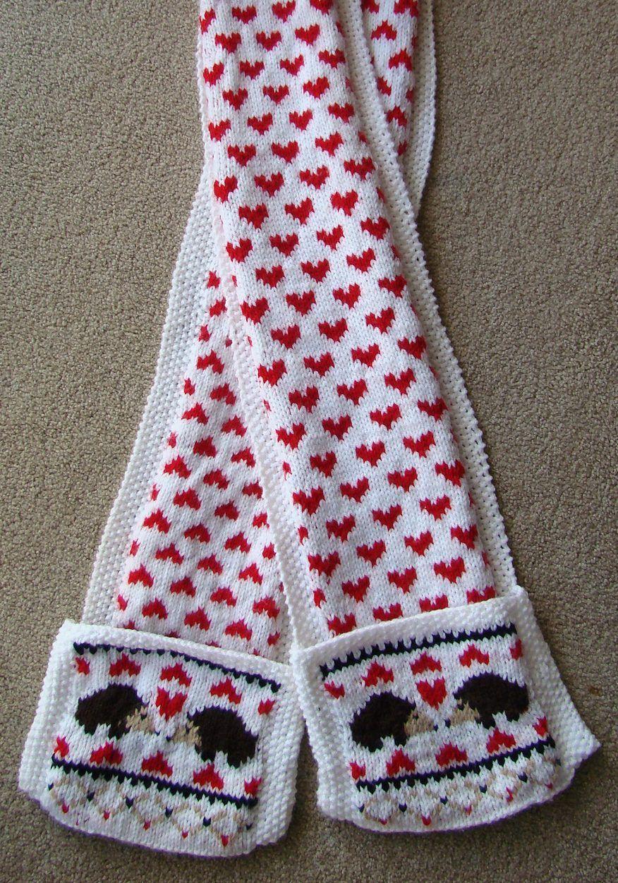 Free Knitting Pattern for Hedgehog Love Scarf | Hedgies | Pinterest ...