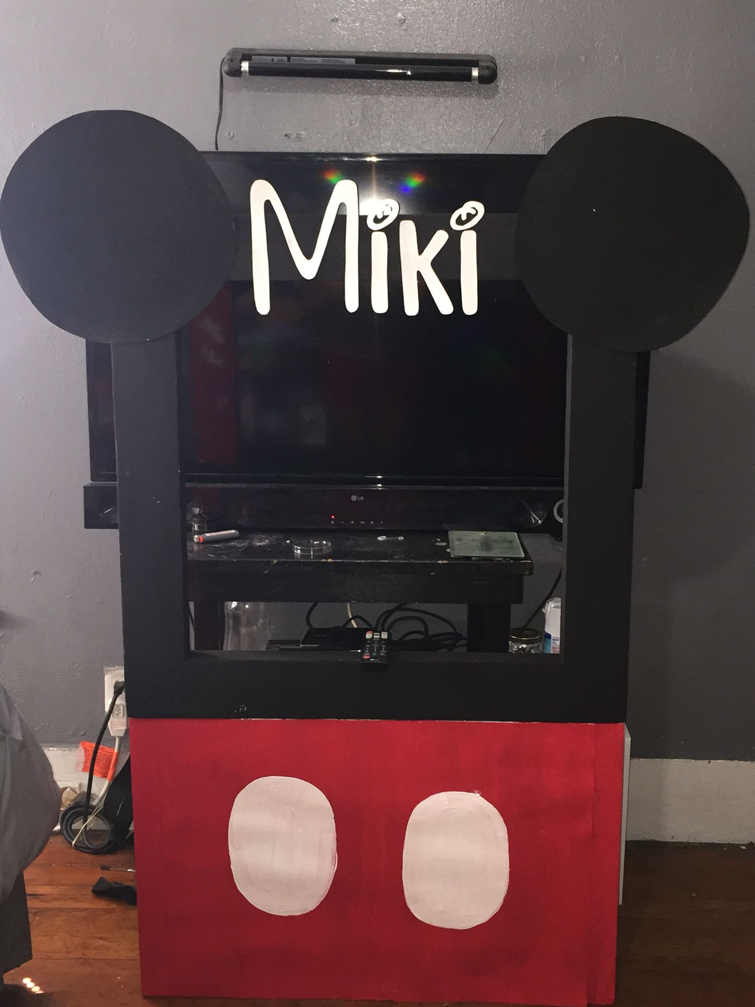 Mickey Mouse Picture Frame For My Sons 1st Birthday
