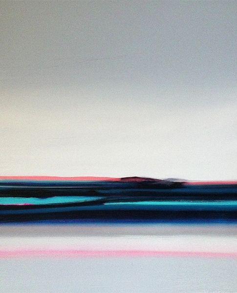 Zoe Pawlak Nuits Blanches Paysage Peinture