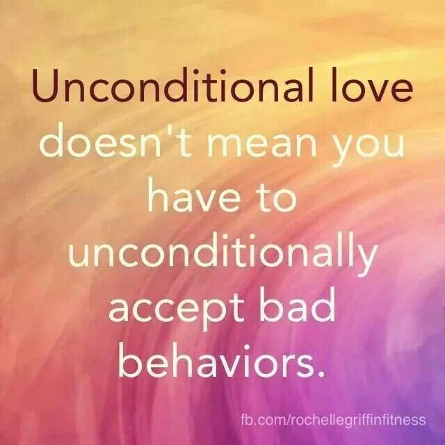 """I Love You Badly Quotes: """"Unconditional Love Doesn't Mean You Have To"""