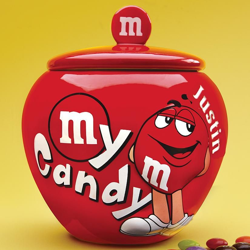 f68d643d3bf Personalized M   M Candy Jars. Only  15 through Living Social for 3 more  days. Otherwise