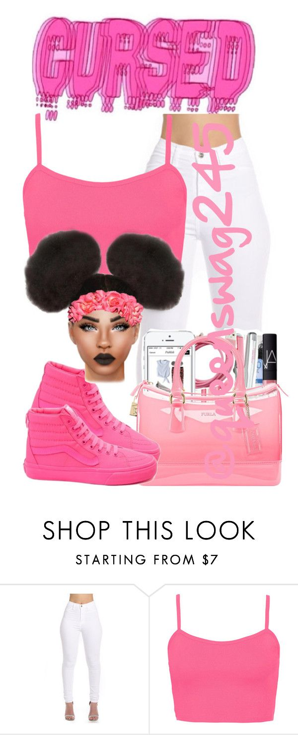 """Stay x Rihanna"" by queenswag245 ❤ liked on Polyvore featuring Topshop and Furla"