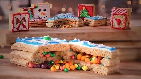 How To Make Surprise Christmas Cookies Just Add Sugar -- Watch