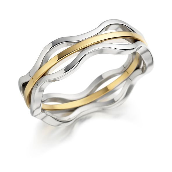 Wave Wedding Rings Google Search