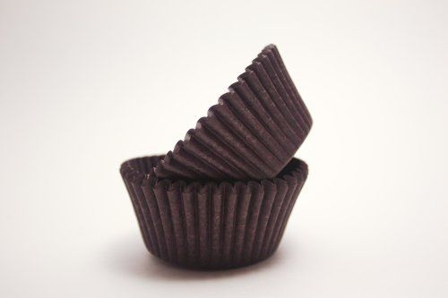 Jumbo Brown Cupcake Liners 560 Count This Is An Amazon