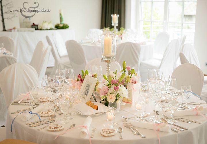 Tischschmuck Runde Tische Hochzeit Tischdekoration Hochzeit Blumen Tischdekoration Hochzeit