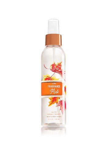 Signature Collection Salted Caramel Apricot Fine Fragrance Mist Bath And Body Works Bath And Body Works Body Skin Care Fragrance Mist