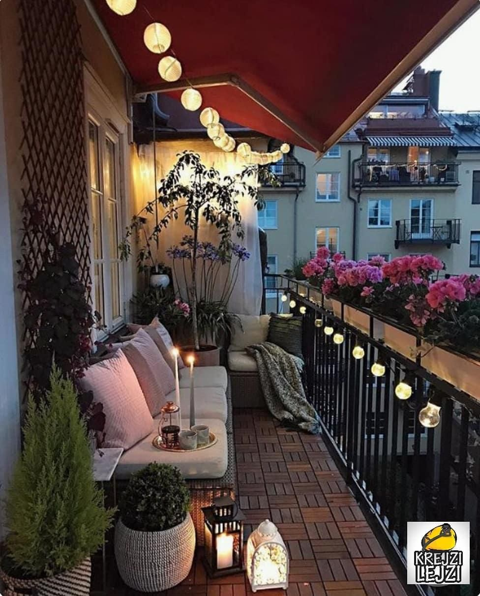 """14 Balcony Decorating Ideas and Examples More Romantic Than """"Romeo"""