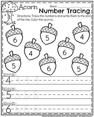 November Preschool Worksheets | Dia de hoy, Enseñanza y Actividades