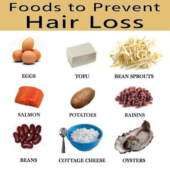 diet to prevent hair thinning