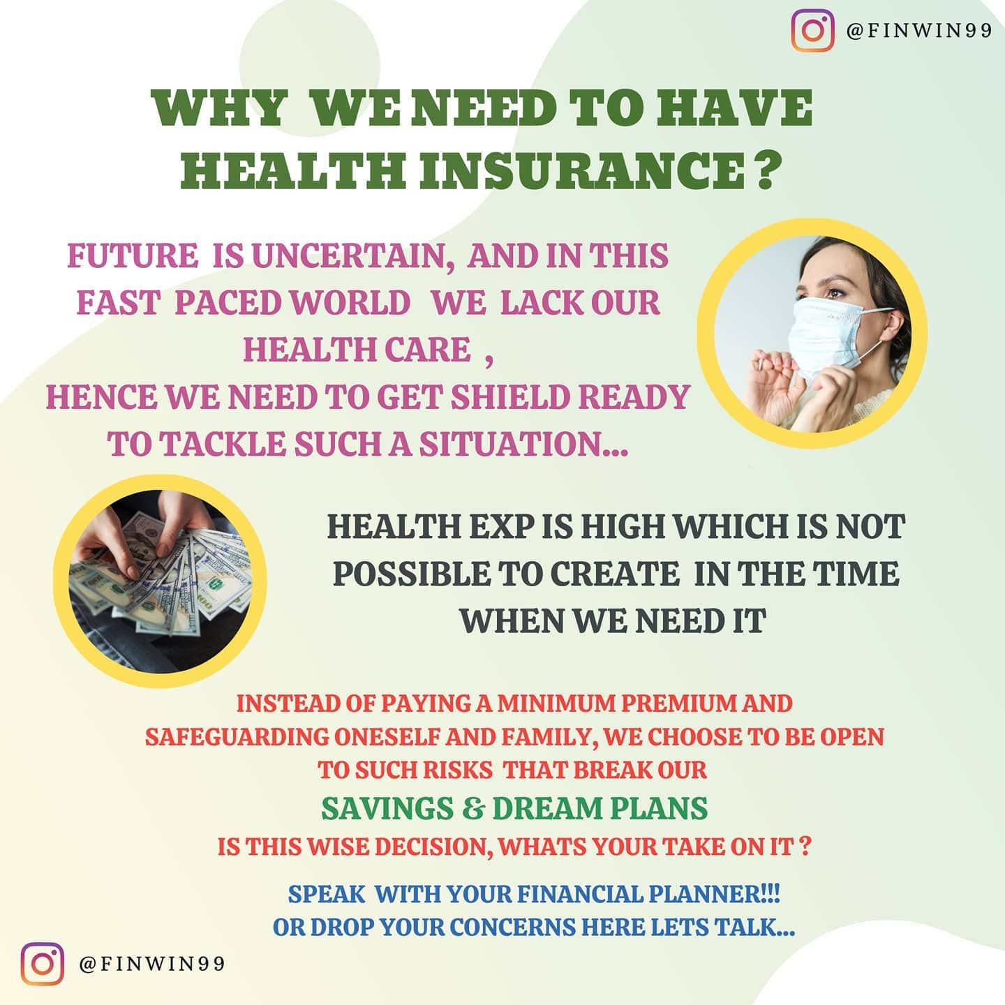 HEALTH RISK COVERED DO YOU HAVE IT? . . The Importance of