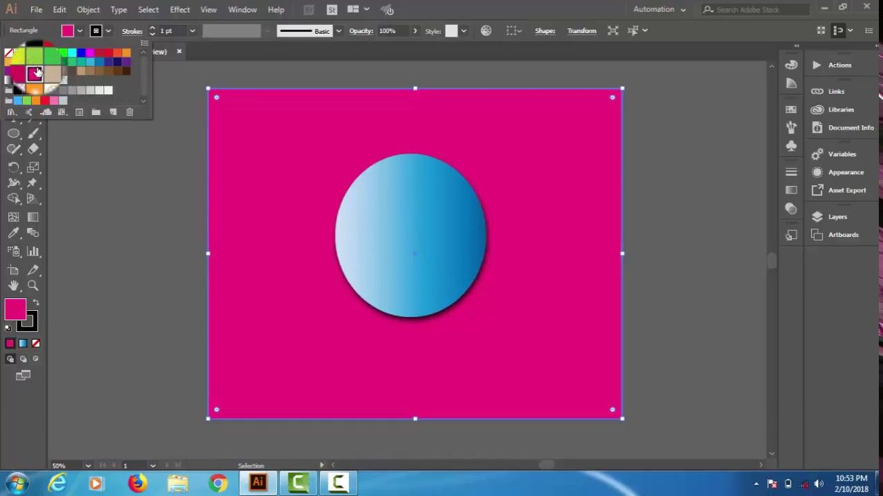 how to Drop shadow tool effect adobe illustrator cc (2018) (With ...