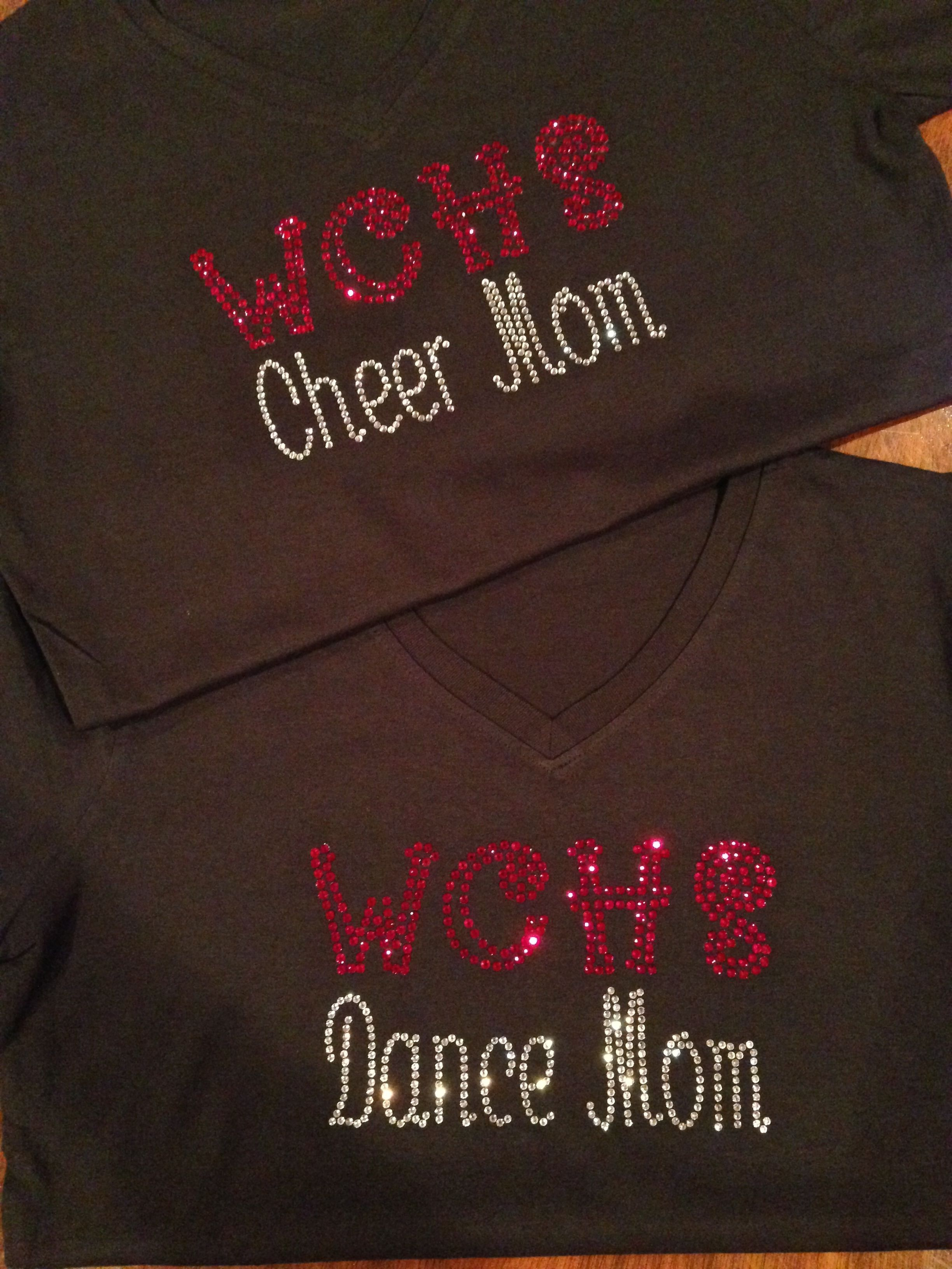 WCHS Cheer and Dance Moms show their spirit!