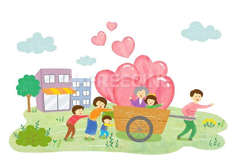 사람, 남성, 여자, 여성, 어린이, 어른, 라이프, 행복, 엄마, 어머니, 아빠, 아버지, 오브젝트, 가족, 남자, 협동, 생활, 일러스트, freegine, illust, 노인, 복지, 할머니, 봉사, 사랑, 단체, 행복한, 사회복지, 캐릭터, 동네, 패밀리, 나눔, 여러명, 리어카, 에프지아이, FGI, SPAI126, 행복한우리동네, 우리, SPAI126_004, 행복한우리동네004 #유토이미지 #프리진 #utoimage #freegine 19169562