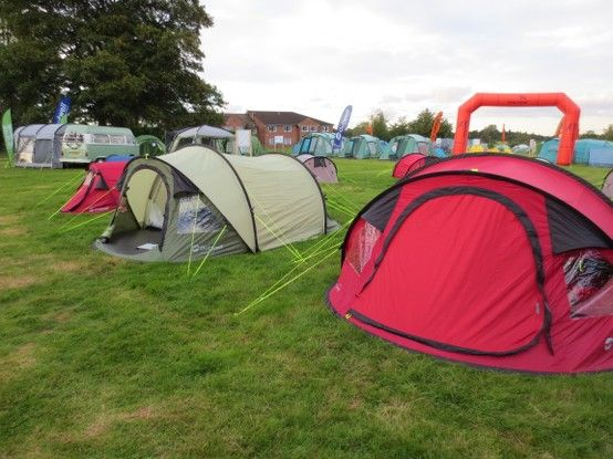 Outwell Fusion Smart Tunnal popup tents. Easy peasy to pitch and with plenty of room & Outwell Fusion Smart Tunnal popup tents. Easy peasy to pitch and ...