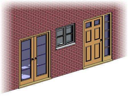 Revit Architecture Doors And Windows Tutorial Revit Molduras