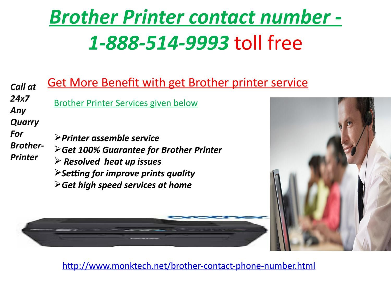 Call 18885149993 Toll Free Brother Printer contact